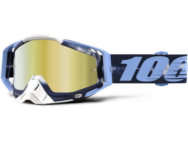 100% Racecraft Anti Fog Mirror Goggles Tiedye